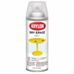 Krylon Diversified Brands 3940 Dry Erase Surface, Clear, 12-oz. Spray