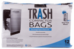 Rps Products WMCK1335012-6 Trash Compactor Bags, 2-Ply, 12-Pk.