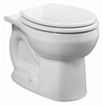 American Standard Brands 3251D101.020 Colony Toilet Bowl, Round, White
