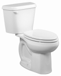 American Standard Brands 751AA001.020 Colony Toilet-To-Go, Elongated, 1.6 GPF, White