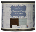 Amitha Verma AZ04 Chalk Finish Paint, Azure Green, 4-oz.