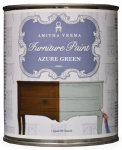 Amitha Verma AZ32 Chalk Finish Paint, Azure Green, 1-Qt.
