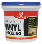 Red Devil 0534 Quart Vinyl Spackling