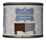 Amitha Verma CG04 Chalk Finish Paint, Chambord Gray, 4-oz.