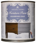 Amitha Verma CG32 Chalk Finish Paint, Chambord Gray, 1-Qt.