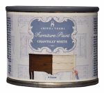 Amitha Verma CW04 Chalk Finish Paint, Chantilly White, 4-oz.