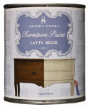 Amitha Verma LB32 Chalk Finish Paint, Latte Beige, 1-Qt.