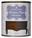 Amitha Verma NB32 Chalk Finish Paint, Noir Black, 1-Qt.
