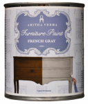 Amitha Verma FG32 Chalk Finish Paint, French Gray, 1-Qt.