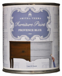 Amitha Verma PB32 Chalk Finish Paint, Provence Blue, 1-Qt.