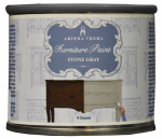 Amitha Verma SG04 Chalk Finish Paint, Stone Gray, 4-oz.