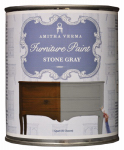 Amitha Verma SG32 Chalk Finish Paint, Stone Gray, 1-Qt.