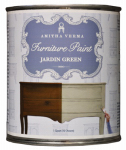 Amitha Verma JG32 Chalk Finish Paint, Jardin Green, 1-Qt.