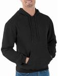 Gildan Usa 282953 LRG BLK Hood Sweatshirt