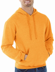 Gildan Usa G18500ORG-L LRG ORG Hood Sweatshirt