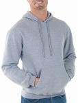 Gildan Usa 282981 MED GRY Hood Sweatshirt