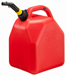 Scepter Canada 10445 Hi-Flow Vented Gas Can, Plastic, 5-Gals.