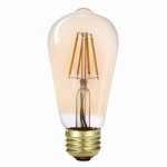 Globe Electric 73193 Vintage LED  5W (60W eq) ST19 Bulb