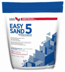 U S Gypsum 384024 Easy Sand 5 Lightweight Setting-Type Joint Compound, 3-Lbs.