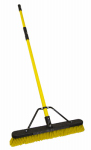 Quickie Mfg 00857FGSU Jobsite Push Broom, Commercial Grade, 24-In.