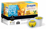 Keurig Green Mountain 117458 K-Cup Snapple Lemon Iced Tea, 12-Ct.