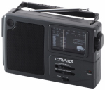 Craig Electronics CR4181W Portable AM/FM Weather Band Radio