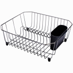 Rubbermaid 6008-AR-BISQU Wire Dish Drainer, Twin-Sink, Bisque