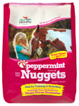 Manna Pro 1000010 Peppermint Nugget Bite Size Horse Treats, 4-Lb.