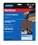 Norton Abrasives/St Gobain 07660747855 3-Pack 9 x 11-Inch Emery Metal Sanding Sheets