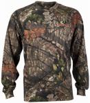 Gildan Usa M54002-M MED L/S Camo T-Shirt