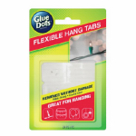 Glue Dots International 14271 Flexible Hang Tabs, 24-Pk.