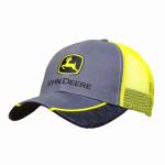 J America 13080226YW00 Mesh Cap, John Deere Logo, Yellow, One Size