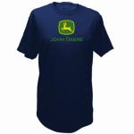 J America 13280000NV04 MED Navy S/S T-Shirt