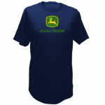 J America 13280000NV07 2XL Navy S/S Men TShirt