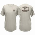 J America 13281044OM04 MED Oat S/S Men T-Shirt