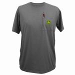 J America 14031569CH05 LG Char S/S Men T-Shirt