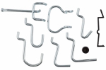 National Mfg/Spectrum Brands Hhi N112-060 32PC ZN Peg Hook Kit