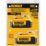 Black & Decker/Dewalt DCB204-2 Lithium-Ion Battery, 20-Volt, 2-Pk.