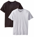 Hanesbrands 2165P2-M 2PK Medium BLK/GRY T-Shirt
