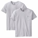 Hanesbrands 2176P2-L 2PK Large BLK/GRY T-Shirt