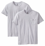 Hanesbrands 2176P2-M 2PK Medium BLK/GRY T-Shirt