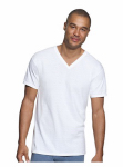 Hanesbrands 777-M 3PK Medium WHT VNeck Shirt