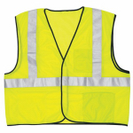 Safety Works CVCL2MLXL Safety Vest, Class 2, Lime Green Mesh