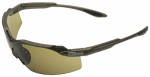 Safety Works SWX00274 Spinner Anti-Fog Safety Glasses, Brown