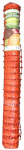 Hanes Geo Components 38049 Heavy-Duty Safety Fence, Orange, 4-Ft. x 100-Ft.