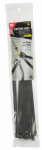 Gardner Bender 45-311UVBSC Cable Ties, Self-Cutting, Black, 11-In., 20-Pk.