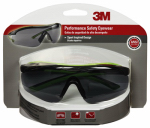 3M 47101-WZ4 Safety Glasses, Sport, Gray