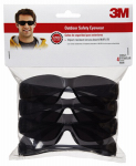 3M 90835-00000B Safety Eyewear Contractor Pack, Gray