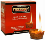 Wood Products Int'l 8808 Fatwood Firedrop Firestarter, 8-Ct.