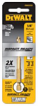 Dewalt Accessories DD5124 Titanium Impact Drill Bit, 3/8-In.